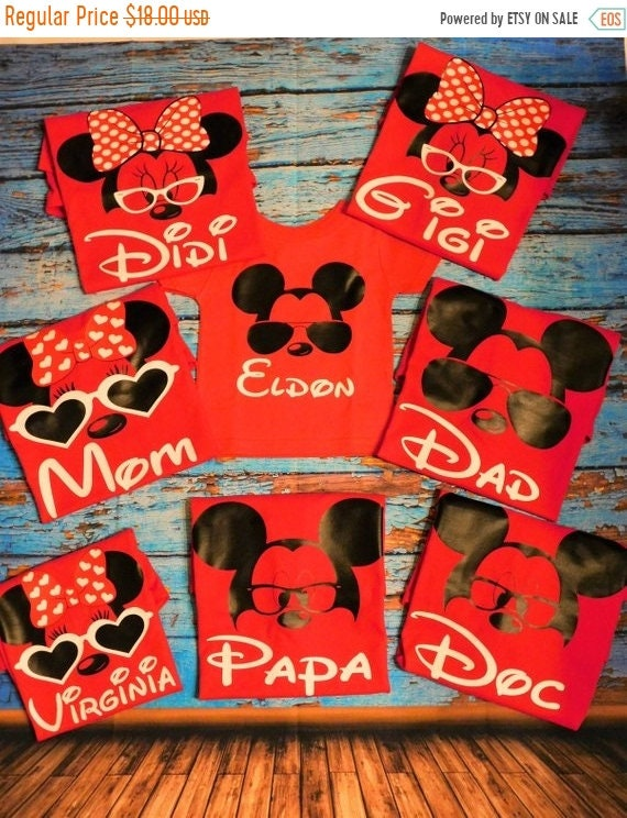 SALE Disneyland Family Shirts Disney Birthday