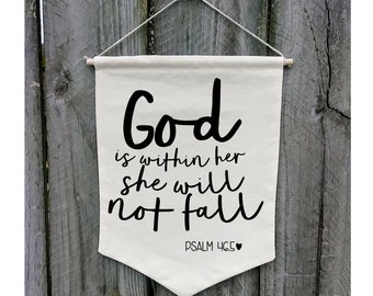 Customize WB170 Be Still and Know That I am God Psalm Wall Banner
