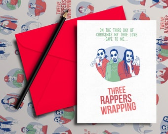 Migos Christmas Card - 'Third Day of Christmas' (Hip Hop / Rap Xmas Cards)