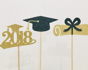 graduation centerpiece etsy