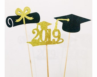 ce5abc0000ab 2019 Graduation centerpiece sticks