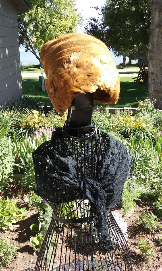 1960s Feathered Turban - image 5