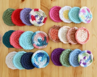 Reusable Cotton Face Rounds for Makeup Remover, Toner, and More