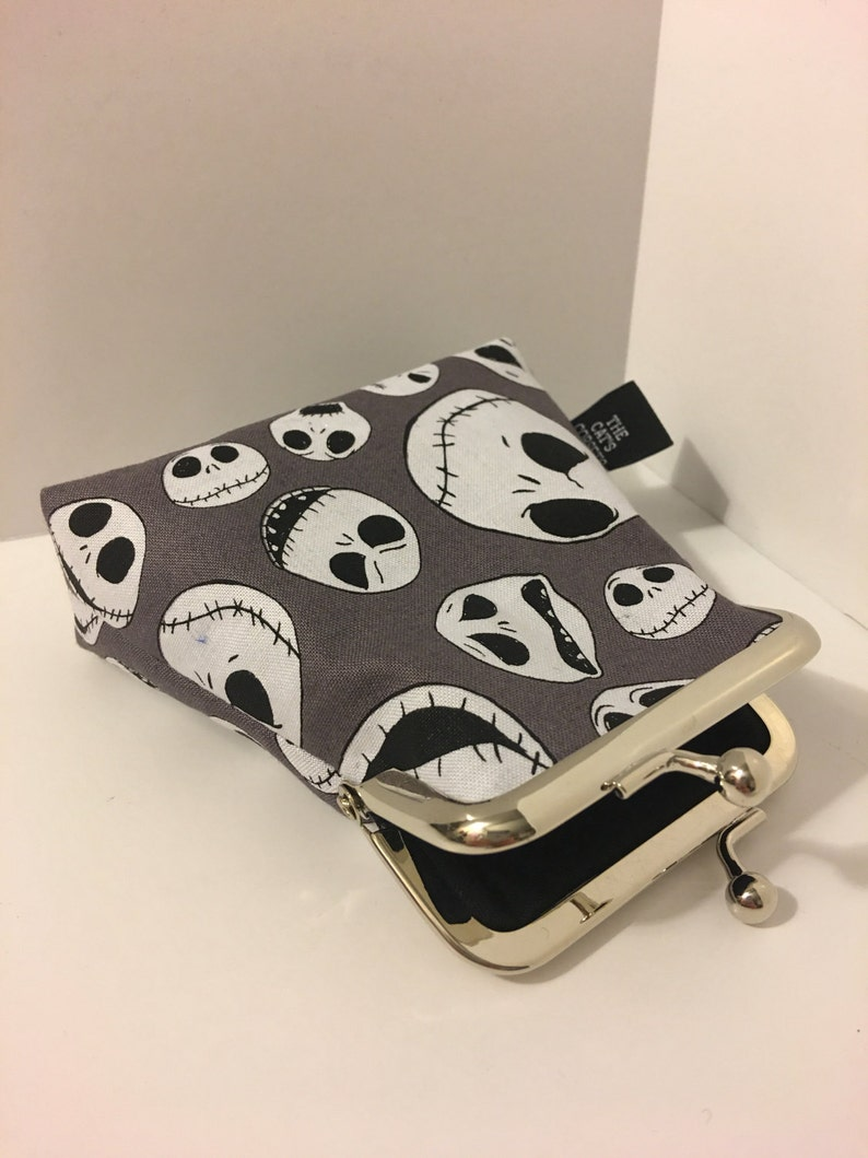 The Nightmare Before Christmas Jack Face Clasp Coin Purse