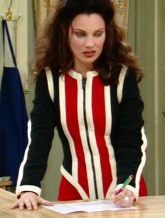 """Vintage Moschino """"Scuba"""" skirt suit in size 8 in b"""