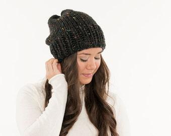 98895e7b1 Vegan knit hat | Etsy
