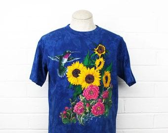 ac7a3b16f6ca3 Vintage sunflower shirt   Etsy