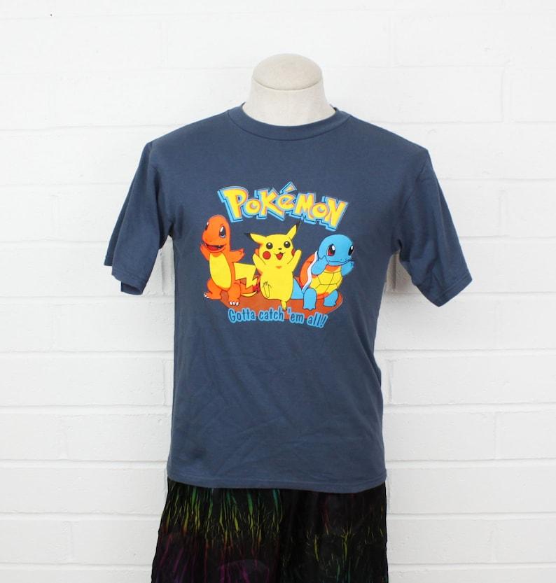 4e600408 Vintage 90s Pokemon Shirt YOUTH XL Gotta Catch Em All Pikachu | Etsy