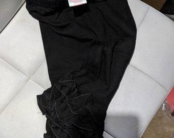 9a2755503cee1 Baby ruffle leggings   Etsy