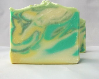 Handmade Soap - Lemongrass & Sage Scent