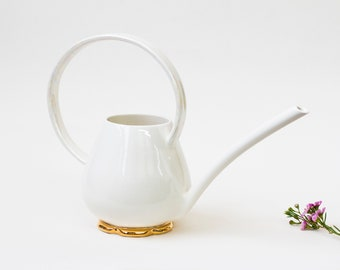 Porcelain watering can - Collaboration with Noémiah