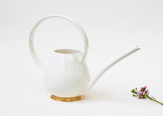 Porcelain Watering Can   Collaboration With Noémiah by Etsy