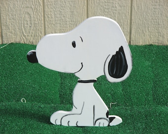 Peanuts Snoopy Yard Sign
