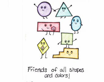 Friends of all Shapes and Colors