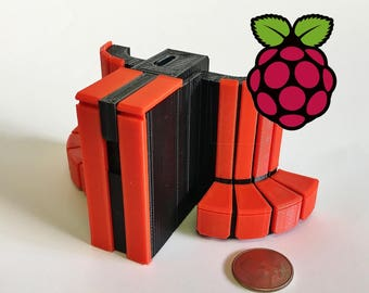 Mini Cray Y-MP Raspberry Pi Zero case kit - 3D Printed!