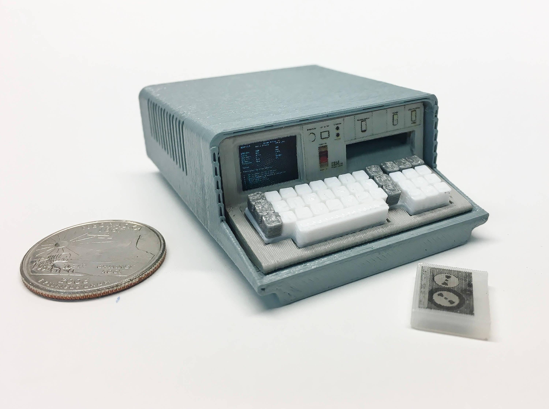 Mini IBM 5100 - 3D Printed!