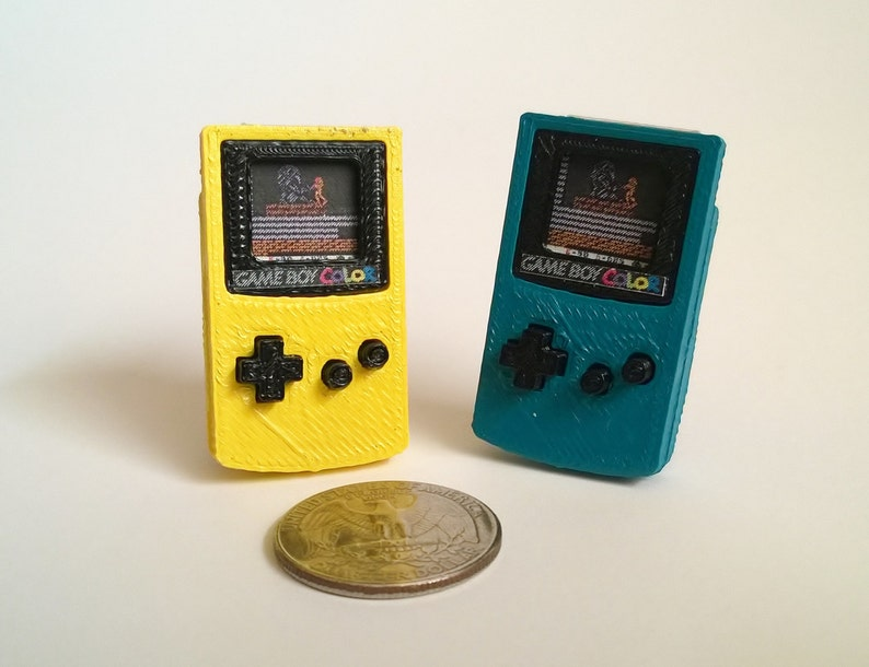 Mini Nintendo Game Boy Color  3D Printed image 0