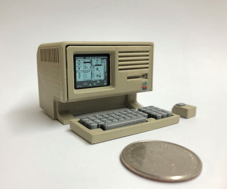 Mini Apple Lisa  3D Printed image 0