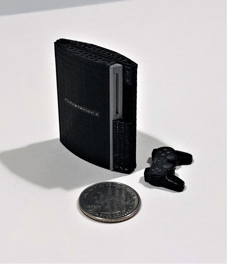 Mini Sony Playstation 3  3D Printed image 0