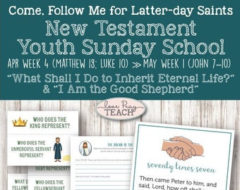 Youth Sunday School Come Follow Me New Testament 2019 EASTER | Etsy