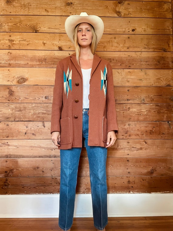 Vintage Ortega's Chimayo Jacket- M/L - image 2