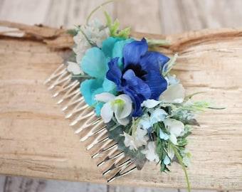 Hair Comb - Blue