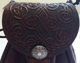celtic tooled sporran