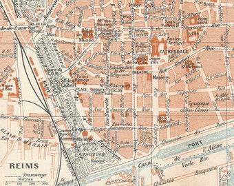 Reims France Etsy