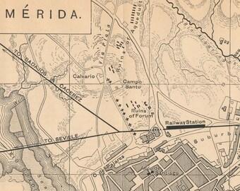 Merida Map Etsy