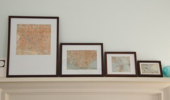 Custom Framing 8 x 10: Mocha Brown Eco-Friendly Bamboo Frames   Etsy
