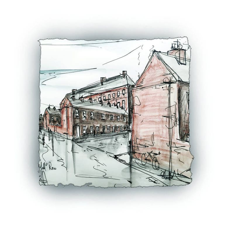 MILL ROW (c) - Linen Mills Belfast Armagh Ireland