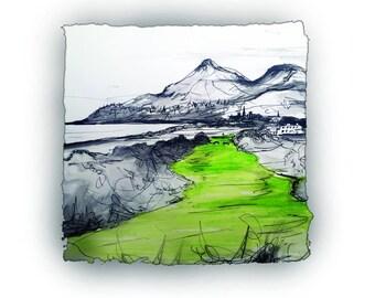 NINTH HOLE - Royal County Down Northern Ireland