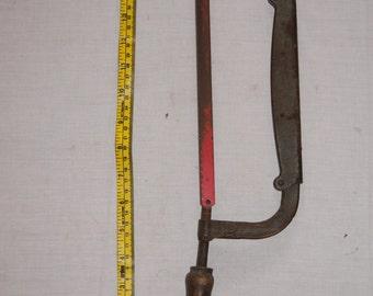 Vintage  1950's - Torrington Conn Union Made, Adjustable Hacksaw- Tools