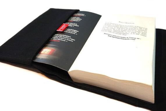Protege Livre Poche Couverture Livre Etui Livre Lin Accessoire Livres Cache Livre Livre Grand Format Protege Carnet Retro Cadeau Noel