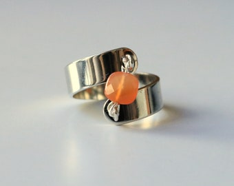 ZENATTI carnelian ring