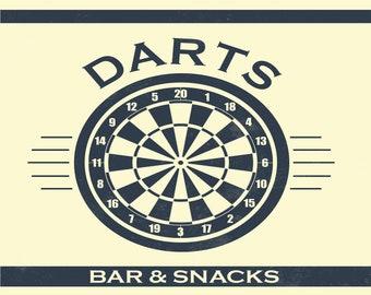 Darts Signs Etsy