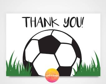 Soccer thank you   Etsy