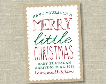 christmas pregnancy announcement christmas pregnancy announcement card holiday pregnancy announcement pregnant christmas card