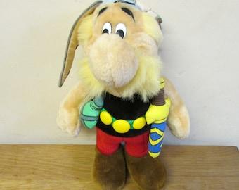 Vintage Asterix plush toy, rare