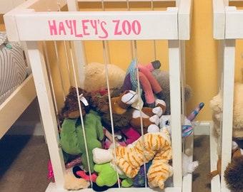 Stuffed Animal Zoo Etsy