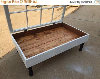 Elegant ON SALE Window Shadow Box Coffee Table   Rustic Coffee Tables   Coffee Table  With Storage   Coffee Table   Rustic Coffee Table