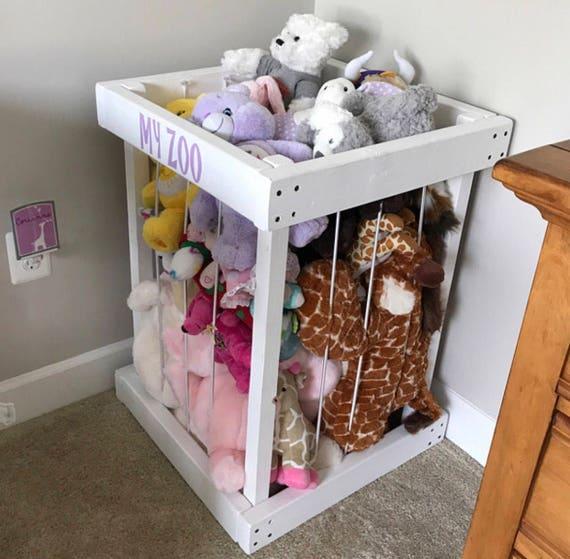 Sale Stuffed Animal Storage Stuffed Animal Zoo Stuffed Etsy