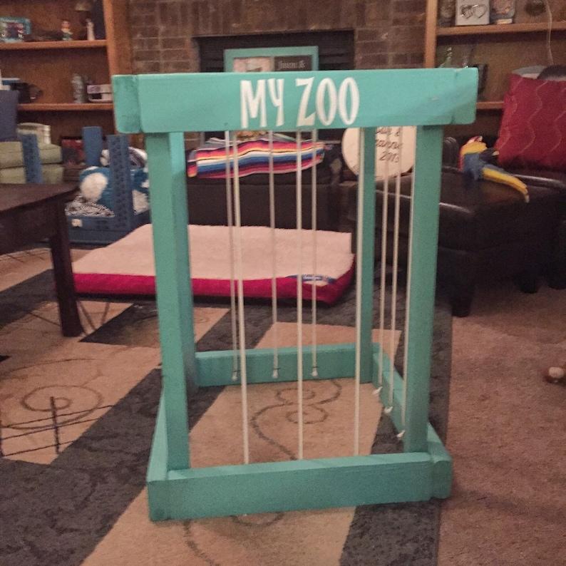 my zoo stuffed animal storage