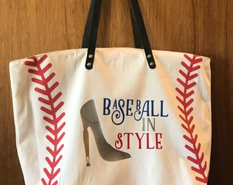 ON SALE Baseball purse - personalized baseball bag - baseball mom gift - baseball apparel - softball bag - custom baseball bag - baseball in