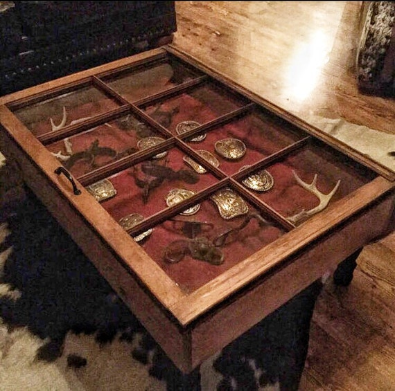 Superieur SALE Rustic Coffee Table   Shadow Box Coffee Table   Reclaimed Windows    Window Coffee Table   Distressed Coffee Table   Display Table