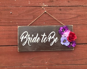 ON SALE bride to be sign - Wedding chair back Signs - wedding chair signs - chair hanger signs - bridal party signs