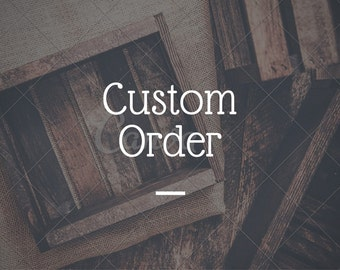 ON SALE CUSTOM Sign Order - 48 x 12 - Create your own sign listing - large wood signs - over the bed sign - over the couch sign - large wood