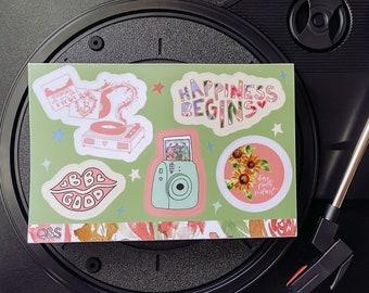 Jonas Brothers Sticker Sheet