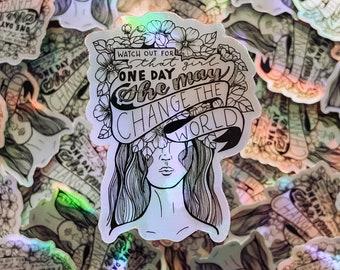 Underdog Holographic Stickers