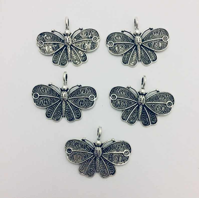 Butterfly Pendants for Jewelry making Butterfly Pendant image 0